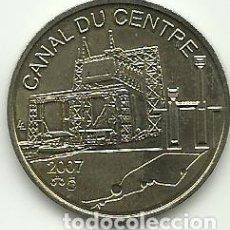 Monedas antiguas de Europa: PATRIMONIO MUNDIAL - CANAL DU CENTRE - 2007 - BELGICA - FOTOS. Lote 261364525