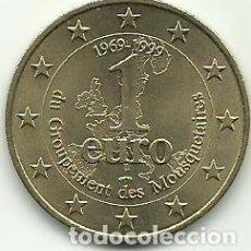 Monedas antiguas de Europa: 1 EURO - MOUSQUETAIRES - 1969-1999 - TOKEN - FOTOS. Lote 261521445