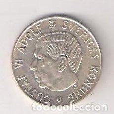 Monedas antiguas de Europa: MONEDA DE 1 CORONA DE SUECIA DE 1966. PLATA. EBC. (ME651). Lote 261552835