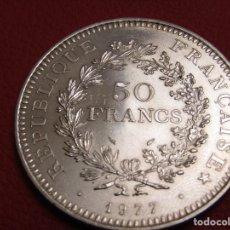 Monedas antiguas de Europa: 50 FRANCOS DE PLATA 1977. Lote 261553265