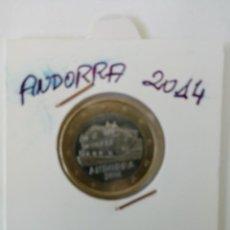 Monedas antiguas de Europa: MONEDA 1 EUROS ANDORRA 2014. Lote 261562625