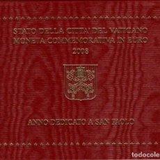 Monedas antiguas de Europa: VATICANO 2 EUROS 2008 - S/C - AÑO DEDICADO A SAN PABLO. Lote 261564835