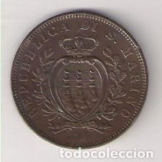 Monedas antiguas de Europa: MONEDA DE 10 CENTESIMI (CÉNTIMOS) DE SAN MARINO DE 1894. COBRE. MBC. (ME710). Lote 261565840