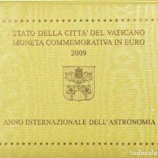 Monedas antiguas de Europa: VATICANO 2 EUROS 2009 - S/C - AÑO INTERNACIONAL DE LA ASTRONOMIA. Lote 261566240