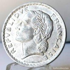 Monedas antiguas de Europa: ⚜️ 5 FRANCS 1947. VARIANTE 9 ABIERTO. AC632. Lote 261844415
