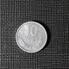 Monedas antiguas de Europa: POLONIA 10 GROSZY 1980. Lote 261846750