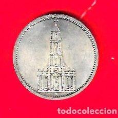 Monedas antiguas de Europa: ALEMANIA 5 REICHSMARK 1934 A, IGLESIA DE POSTDAM. Lote 262004425