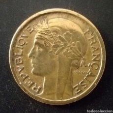 Monedas antiguas de Europa: MONEDA DE 1 FRANCO FRANCIA AÑO 1938. Lote 262019930