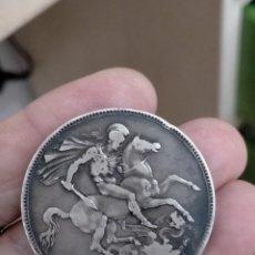 Monedas antiguas de Europa: REINO UNIDO. CORONA DE PLATA DE 1898. CROWN. Lote 262094665