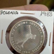 Monedas antiguas de Europa: POLONIA 1983 500 ZLOTY PLATA- PROBA ( SOLO 8000 UNIDADES). Lote 262095775
