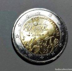Monedas antiguas de Europa: FRANCIA 2 EUROS COMMEMORATIVA 2011 30 ANIV. FIESTA DE LA MUSICA - MONEDA NUEVA PERFECTA. Lote 262135900