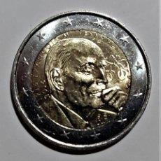 Monedas antiguas de Europa: FRANCIA 2 EUROS COMMEMORATIVA 2016 - CENT. NACIMIENTO FRANCOIS MITERRAND- MONEDA NUEVA PERFECTA. Lote 262137825