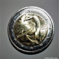 Monedas antiguas de Europa: FRANCIA 2 EUROS COMMEMORATIVA 2017 - 25 ANIVERSARIO LAZO ROSA - MONEDA NUEVA PERFECTA. Lote 262138235