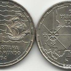 Monedas antiguas de Europa: 200 ESCUDOS DE PORTUGAL - PARTILHA DO MUNDO - 1994 - FOTOS. Lote 289227733