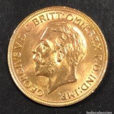 Monedas antiguas de Europa: SOBERANO DE ORO - JORGE V - 1932 -. Lote 262454995