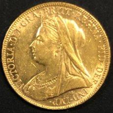 Monedas antiguas de Europa: SOBERANO DE ORO REINA VICTORIA- 1898 -. Lote 262486750