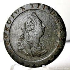 Monedas antiguas de Europa: ⚜️ CARTWHEEL PENNY 1797. CANTO SERRADO. GRAN BRETAÑA. AC685. Lote 262712625