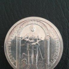 Monedas antiguas de Europa: MONEDA 100 ESCUDO 1985 PORTUGAL PLATA 925 CORTES DE COIMBRA - 600 ANOS DA BATALHA DE ALJUBARROTA. Lote 262746350