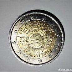 Monete antiche di Europa: FRANCIA 2 EUROS COMMEMORATIVA 2012 - 10 AÑOS CIRCULACION EURO - MONEDA EN MBE. Lote 262871315