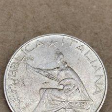 Monedas antiguas de Europa: MONEDA DE PLATA 500 LIRAS 1961. Lote 262887790