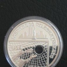 Monedas antiguas de Europa: RARA MONEDA 1000 FORINT 1993 HUNGRÍA PLATA CON DOS TORRES FÚTBOL USA 1994 S /C. Lote 263040475