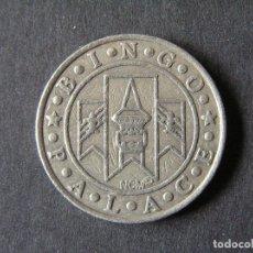 Monedas antiguas de Europa: FICHA 5 CENTIMOS BINGO PALACE. Lote 263156590