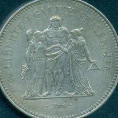 Monedas antiguas de Europa: FRANCIA 50 FRANCOS DE PLATA 1979 EXCELENTE ESTADO. Lote 263177030
