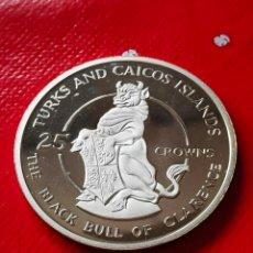 Monedas antiguas de Europa: DIFÍCIL MONEDA PLATA 25 CROWNS 1978 SC. Lote 263202265