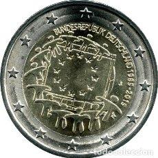 Moedas antigas da Europa: ALEMANIA 2015 2 EUROS. XXX ANIVERSARIO DE LA BANDERA EUROPEA. S/C. Lote 263601135