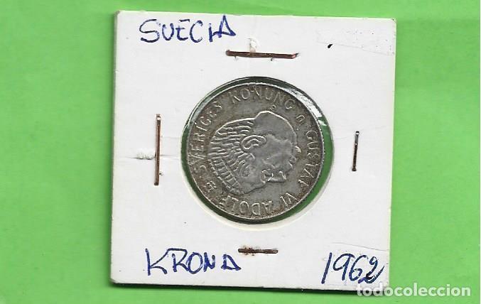 PLATA SUECIA KRONA 1962. 7 GRAMOS DEL 0,400 (Numismática - Extranjeras - Europa)