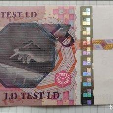 Monedas antiguas de Europa: UNIÓN EUROPEA - ALEMANIA – 1X LD EURO ENSAYO BILLETE PROTOTIPO TEST TESNOTE UNC.. Lote 263951735