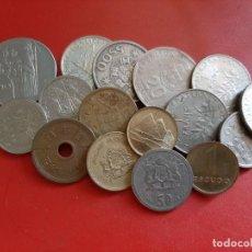 Monedas antiguas de Europa: MONEDAS DEL MUNDO. GRUPO DE 16 MONEDAS. Lote 264306588