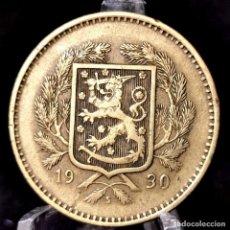 Monedas antiguas de Europa: ⚜️ B2235. 10 MARKKAA 1930. FINLANDIA. AC913. Lote 266018223