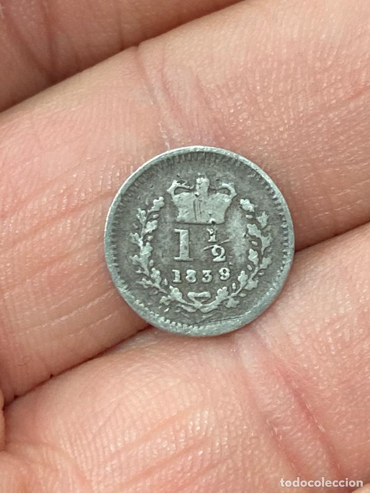 Monedas antiguas de Europa: Lote de moneda inglesa - Foto 9 - 266259888