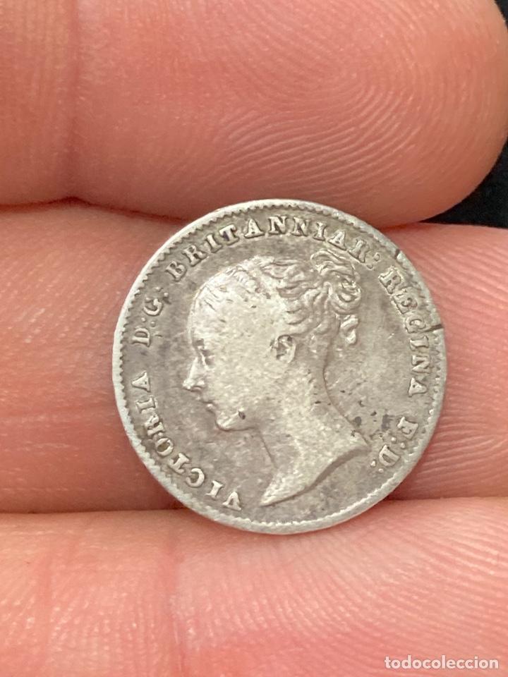 Monedas antiguas de Europa: Lote de moneda inglesa - Foto 10 - 266259888