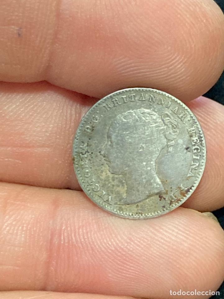 Monedas antiguas de Europa: Lote de moneda inglesa - Foto 12 - 266259888