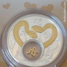 Monedas antiguas de Europa: MONEDA PLATA .925 28,28 GR , ACUÑADA EN POLONIA , TEXTO EN RUSO Y MONEDA ISLA NIUE. CERTIFICADA.. Lote 266703423