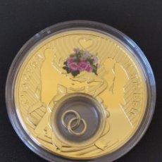 Monedas antiguas de Europa: MONEDA PLATA .925 , 28,28GR .ACUÑADA EN POLONIA, CHAPADA EN ORO 24 KT. .CERTIFICADA.. Lote 266705503