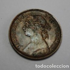 Monnaies anciennes de Europe: 340,, MONEDA DE INGLATERRA, REINA VICTORIA FARTHING COBRE 1886 MBC+ MUY BONITA. Lote 267283914