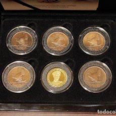 Monedas antiguas de Europa: MONEDAS IRLANDA. THE IRISH FREE STATE PENNY SET . 5 MONEDAS COBRE Y UNA DE ORO.. Lote 267623724