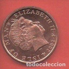Monedas antiguas de Europa: ISLA DE MAN, 1 PENIQUE 2002, SIN CIRCULAR. Lote 267717049