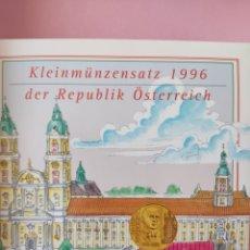Monedas antiguas de Europa: ESTUCHES MONEDAS AUSTRIA 1996. Lote 267770854