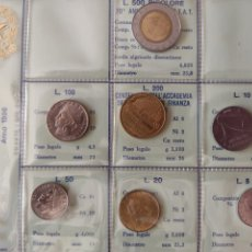 Monedas antiguas de Europa: ESTUCHE EMISIÓN MONEDAS ITALIA 1996. Lote 267863734