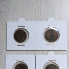Monedas antiguas de Europa: 4× LIARD DE FRANCE LOUIS XIV. Lote 268263034