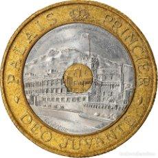 Moedas antigas da Europa: MONEDA, MÓNACO, RAINIER III, 20 FRANCS, 1992, EBC, TRIMETÁLICO, KM:165. Lote 268275374