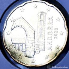 Monete antiche di Europa: ⚜️ A2225. ANDORRA 20 CÉNTIMOS 2020 SIN CIRCULAR. Lote 268440734
