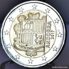 Monete antiche di Europa: ⚜️ A2205. ANDORRA 2 EURO 2017. BUEN EJEMPLAR. Lote 268440879
