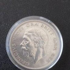 Monedas antiguas de Europa: GRAN BRETAÑA MEDIA CORONA 1931. Lote 268609509