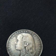 Monedas antiguas de Europa: MONEDA 1 GULDEN 1892 PAÍSES BAJOS. Lote 268734339