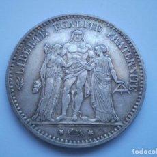 Monedas antiguas de Europa: 9SCD14 FRANCIA 1874 A 5 FRANCOS DE PLATA. Lote 268755239